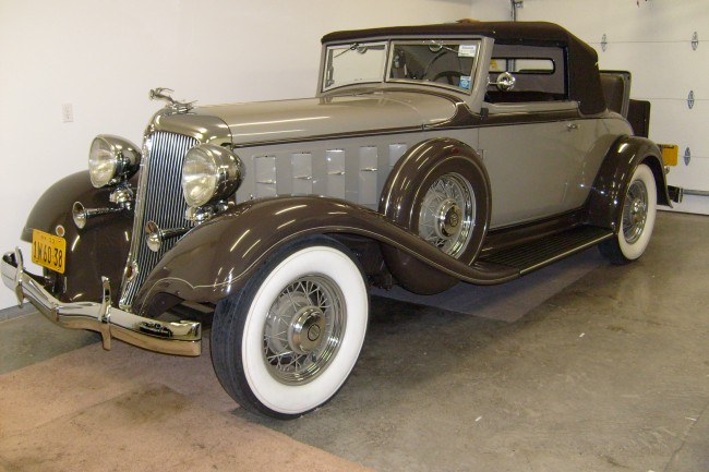 Dad's 1933 Chrysler CQ Imperial Convertible Coupe